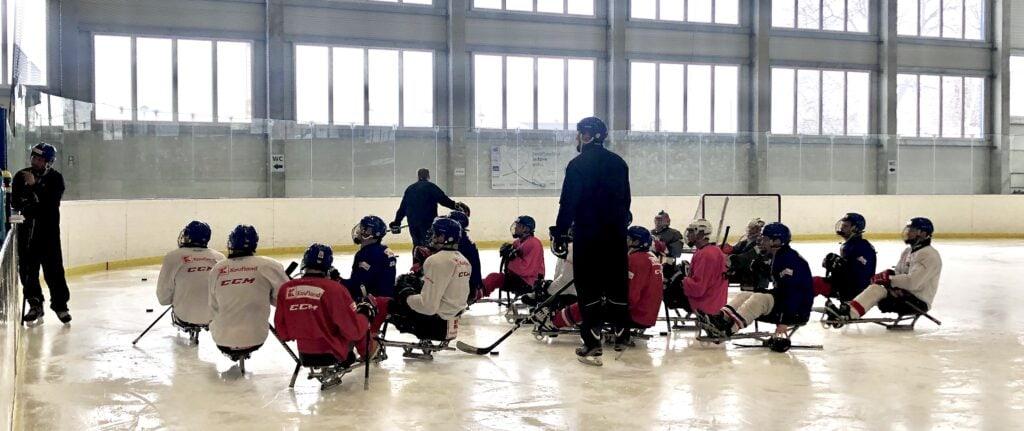 Kádr české para hokejové reprezentace se rozrůstá