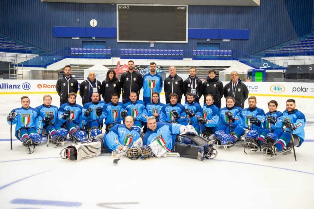 Team Italy on MS 2019 in Ostrava