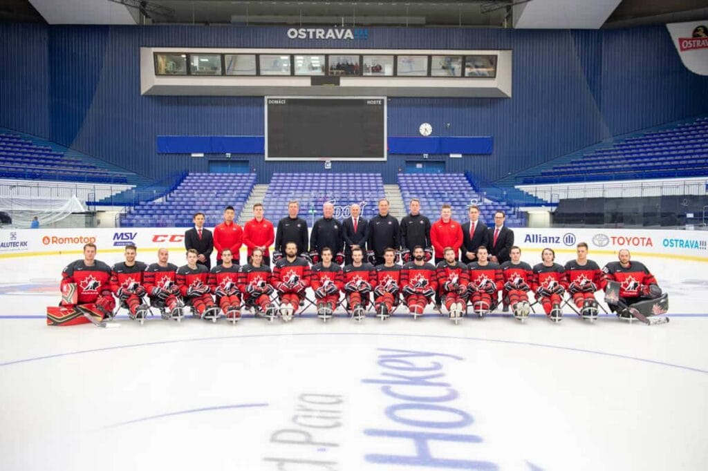 Team Canada on MS 2019 in Ostrava