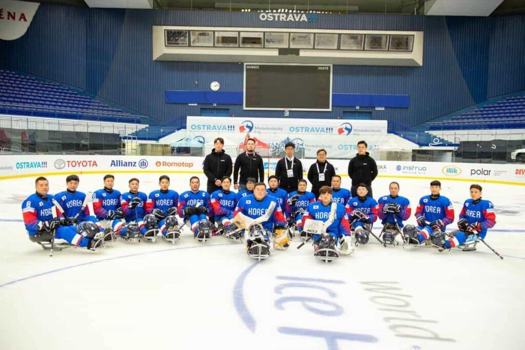 Team South Korea on MS2019 in Ostrava