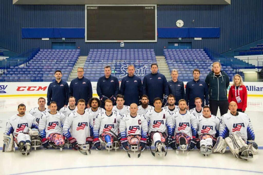 Team USA on MS2019 in Ostrava